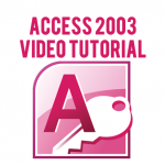 Access 2003 – 08: Multiple Table Query