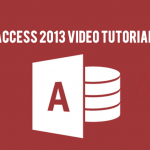 Microsoft Access Video Tutorials
