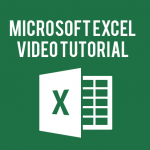 Microsoft Excel Video Tutorials
